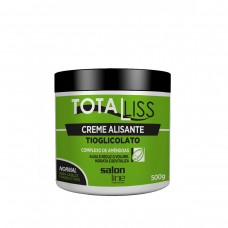 Creme Alisante Total Liss Normal 500 GR- Salon Line